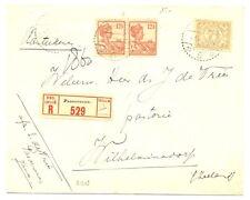DUTCH INDIES NED INDIE 1926   REG. CV  PASOEROEAN  ALMOST VF