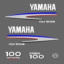 kit stickers YAMAHA 100 cv serie 2 - autocollant capot moteur hors-bors decals