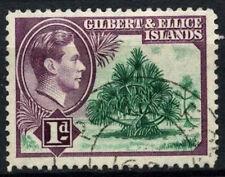 Gilbert & Ellice Islands 1939-55 SG#45, 1.5d Pandanus Pine KGVI Used #D48161