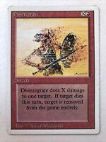 Disintegrate  - Sorcery - MTG Card