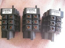 CONDOR SK-R3/16 THERMAL OVERLOAD-LOT OF (3)