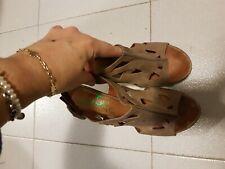 marca chocolate sandali  peep toe sko skor  kengät 38 shoes   Schuhe chic
