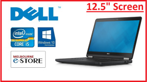 """Refurbished Dell E7250 12.5"""" Core i5 5200U 8GB 256GB SSD Win10 Used Laptop PC"""