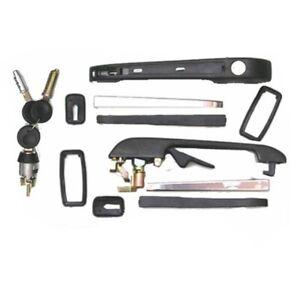 Lock Set Front Door Handles Ignition 3 Keys VW Golf Mk1 & Cabriolet EAP™