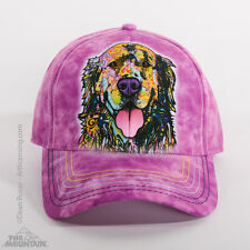 The Mountain Dean Russo Golden Retriever Animal Baseball Strapback Hat 943855