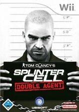 Nintendo Wii +Wii U Tom Clancys SPLINTER CELL DOUBLE AGENT GuterZust.