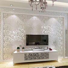 Tapete weiß silber glitzer  Silberne Tapeten | eBay