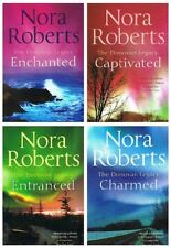 Nora Roberts Donovan Legacy: 4 books (Captivated / Entranced / Charmed / Enchant
