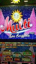 Merkur,ADP,Gauselmann,Multi Los Angeles Basic 25, Spielepaket