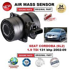 POUR SEAT CORDOBA 1.9 TDi 131 bhp 02-09 AIR MASSIQUE CAPTEUR SEULEMENT 5 BROCHES