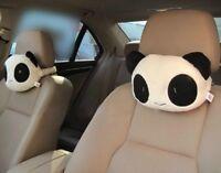 Universal Cute Creative Panda Auto Car Neck Rest Cushion Headrest Pillow Mat G6A