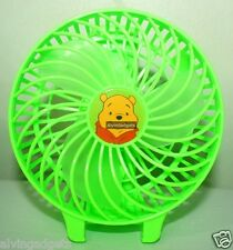 Winnie The Pooh Portable Foldable Mini Rechargeable Fan With Battery & USB Cable