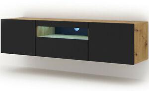 Low tv unit universal aura 150 cm to suspend or ask tv unit