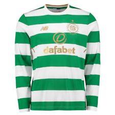 Camiseta de fútbol de clubes internacionales de manga larga en blanco