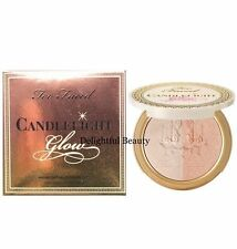 Too Faced CANDLELIGHT GLOW HIGHLIGHTING POWDER DUO Warm Glow - New in Box