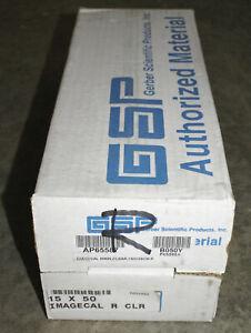 Gerber 15x50 Edge Ready Clear Vinyl Imagecal REMOVABLE Sign Edge Printer plotter