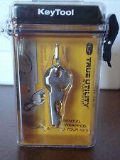 Tru Utility TU247 Keytool Key Ring Accessory Bottle Opener Screwdriver File