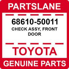 68610-50011 Toyota OEM Genuine CHECK ASSY, FRONT DOOR