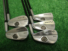 TAYLORMADE TOUR PREFERRED MB FORGED PARTIAL IRON SET 5 6 8 9 P LITE SENIOR GRAPH