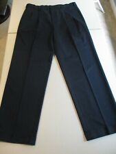 Brooks Brothers Navy Advantage Chino Elliot Pleated 36/32 Excellent Condition!!