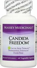 Massey Medicinals - Candida Freedom - 60ct (EXP 01/2020)