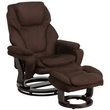 Flash Furniture Brown Microfiber Recliner, Brown - BT-70222-MIC-FLAIR-GG
