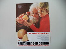 advertising Pubblicità 1979 PARMIGGIANO REGGIANO