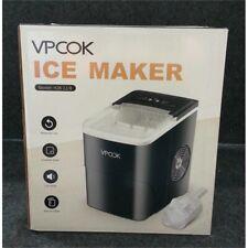 Vpcok Hzb-12/B Ice Maker Countertop Portable Machine, Black/White