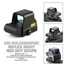 533 Viseur réflexe holographique Viseur pour fusil tactique avec point rouge