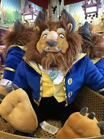 "NEW Disney Parks Authentic BEAST Large Plush Toy 23"" Doll from Beauty and Beast"