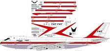 Prototype first Boeing 747-100 City of Everett decals for Revell 1/144 kit