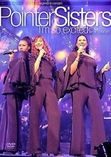 POINTER SISTERS - I'M SO EXCITED USED - VERY GOOD DVD