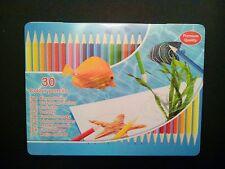 30 Buntstifte Premium Quality / Holzstifte für Malbuch - Mandala