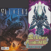 ALIENS DUST TO DUST #1 Set of Two REGULAR COVER + VARIANT Dark Horse
