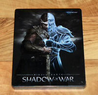 Middle-earth Shadow of War Limited Edition Steelbook Coin Gamescom PS4 Xbox One