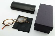 Oliver Peoples LA Glasses 0223 1000 Ej 402 Oval Antique Gold Brown + Prada Case