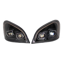 Freightliner Cascadia (08-17) Head Lamp Asse SET Man Fully LED with Indi LED Str