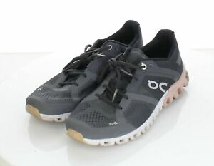 33-53 $140 Women's Sz 7.5 M On Cloudflow Textile Lace Up Running Sneaker In Rose