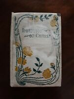 Imitation of Christ by Thomas a' Kempis - Antique - Floral Hardcover