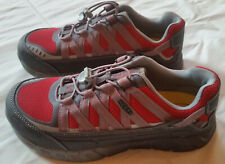 Keen Utility Men's Size 8.5 EE Asheville ESD Aluminum Toe Work Shoes Red