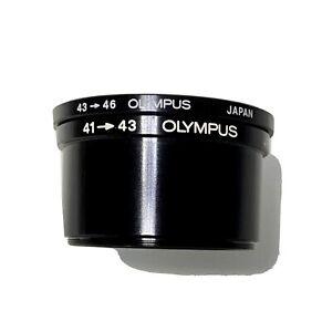 Olympus 41 - 43 Adaptor & Olympus 43 - 46 Adaptor.