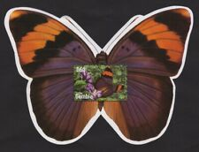 Gambia 2002 -  Butterflies on Stamps - Souvenir sheet - MNH