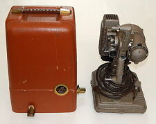 Vintage 1940s Revere Model 85 8mm Film Projector w/ Case Great working Condition