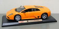 2007 Lamborghini Murcielago LP640 Diecast Model - 1:18 - Orange - Maisto