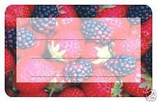 50 SK-Papieretiketten Erdbeer/Brombeer Motiv 5 x 8 cm,Marmeladenglas Glas
