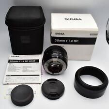 【 Near MINT】Sigma 30mm f/1.4 DC HSM ART Lens 013 for Nikon AF  F-DX From Japan