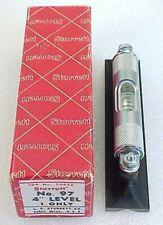 Vintage Starrett Precision Machinist Level No 97 4 With Box