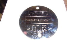 HARLEY DAVIDSON SPORTSTER SHOVELHEAD EVO CHROME IGNITION POINTS COVER #10