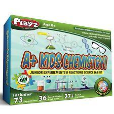 Kids Chemistry Set Junior Experiments & Reactions Science Lab Ingredients Teens