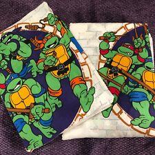 New Teenage Mutant Ninja Turtle Twin Sheet Set ~Fitted & Flat, no Case